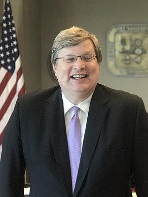 Jim Strickland (politician) - Image: Mayor of Memphis Jim Strickland