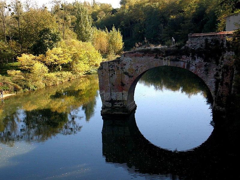 Pont-vieux à Mazères