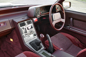 Mazda Cosmo - Cosmo two-door coupe interior