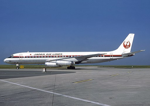 McDonnell Douglas DC-8-62, Japan Air Lines - JAL AN0574533