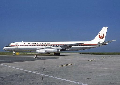 McDonnell Douglas DC-8-62, Japan Air Lines - JAL AN0574533