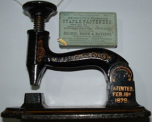 Stapler - A McGill stapler