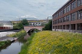 Mechelen, de Dijle bij het spoor IMG 0200 2019-06-23 17.27.jpg