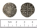 Medieval Coin , Scottish penny of John Baliol (FindID 530127).jpg