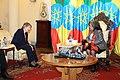 Meeting with Ethiopian President Sahle-Work Zewde (48980683607).jpg