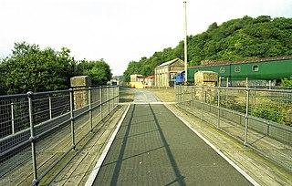 Meldon Quarry railway station