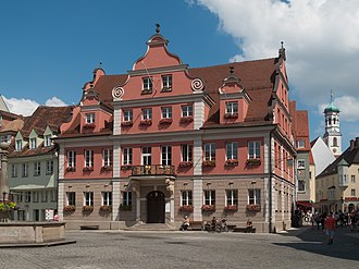 Memmingen - Monumental building: der Grosszunft