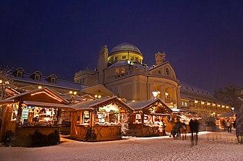Kerstmarkt Merano, Italië