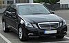 Mercedes E 200 CDI BlueEFFICIENCY Avantgarde (W212) front 20100621.jpg
