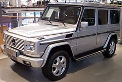 Mercedes Benz G Klasse Wikipedia