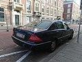 Mercedes S-Class Belgium Old diplomatic plate (Greece) (30620432688).jpg