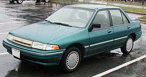 Mercury Tracer - 1993–1996 Mercury Tracer 4-door