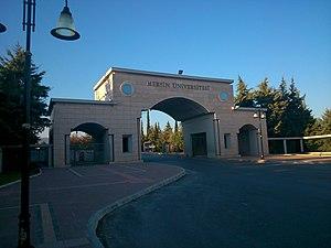 Mersin University - Image: Mersin Üniversitesi giriş kapısı