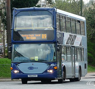 Metrobus (South East England) - Scania OmniDekka in Horsham