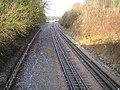 Metropolitan Line railway near Chorleywood - geograph.org.uk - 95884.jpg
