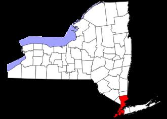 Metropolitan New York Library Council - Metropolitan New York Library Council Service Area
