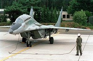 German Air Force - Luftwaffe MiG-29UB