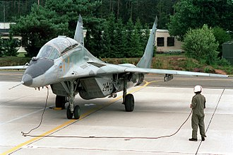 German Air Force - Luftwaffe MiG-29UB