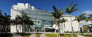 New World Center Concert hall in Miami Beach, Florida, U.S.