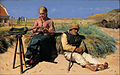 Michael Ancher - Figures in a landscape. Blind Kristian and Tine among the dunes - Google Art Project.jpg