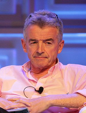 Michael O'Leary (businessman) - O'Leary in 2015