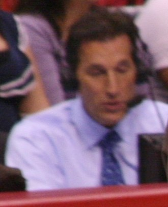 Michael Smith (basketball, born 1965) - Mike Smith calling a Clippers game in 2011.
