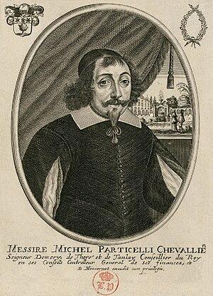Michel Particelli d'Emery - Michel Particelli d'Émery by Balthasar Moncornet