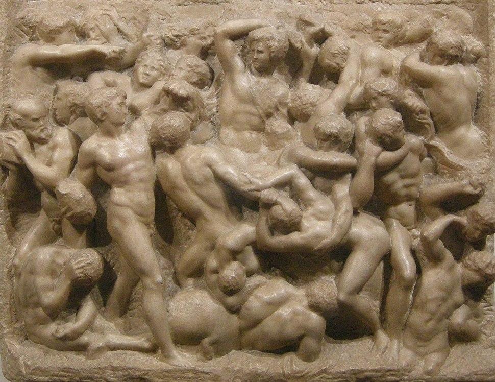 Michelangelo, centauromachia, 1492 ca. 01 crop
