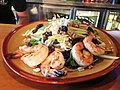 Michigan Salad with grilled shrimp (9555714450).jpg