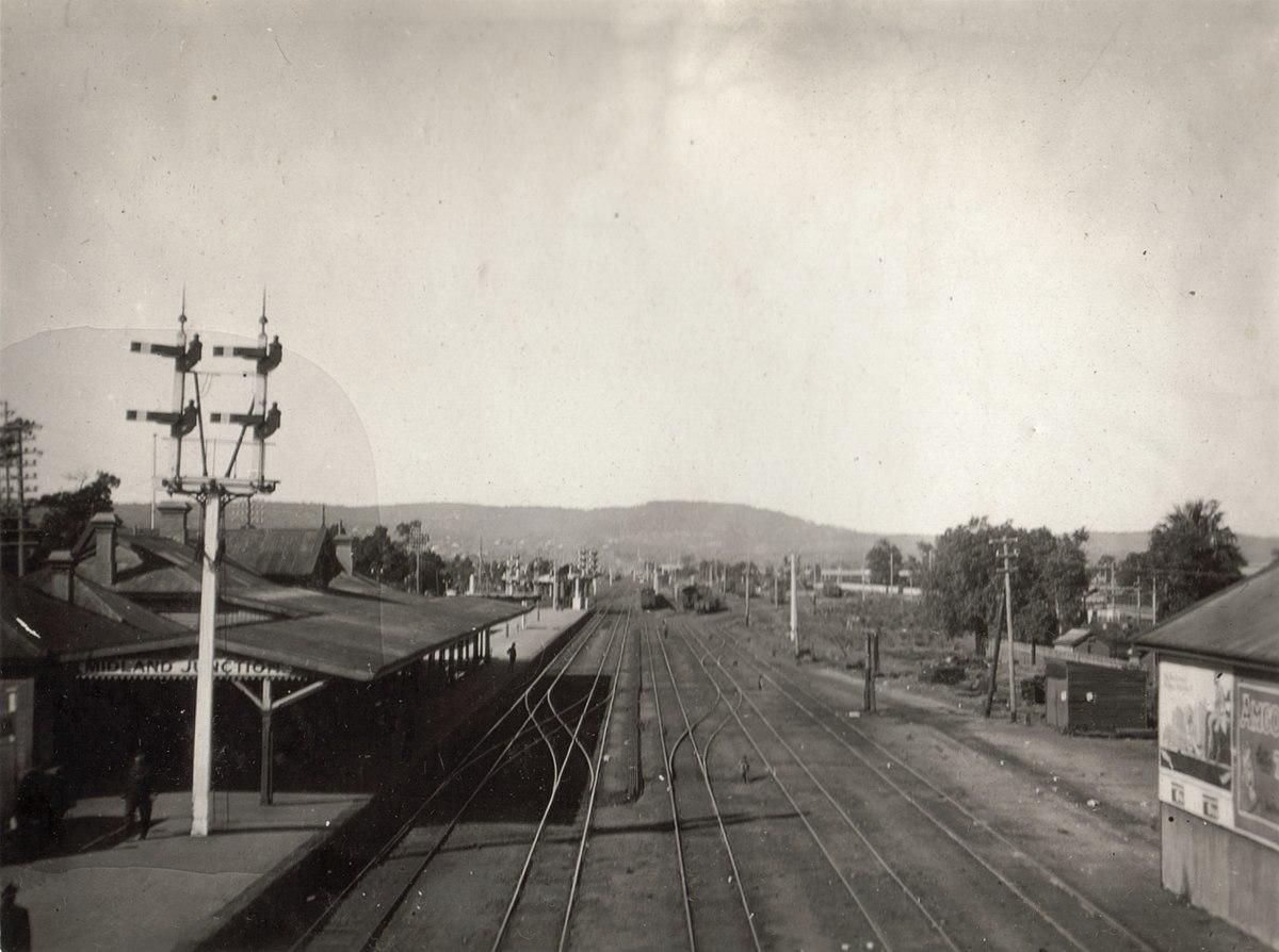 Midland Junction railway station