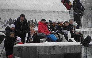 Midtstubakken - Image: Midtstubakken Royal Box 2011 02 27
