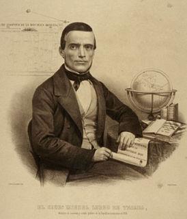Miguel Lerdo de Tejada Mexican politician