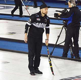 Mike McEwen (curler) Canadian curler