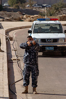 Military Policemen, Civilian Officers Teach Tactics to Tikrit Police DVIDS69446.jpg