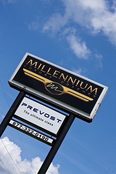 File:Millennium Luxury Coaches facility sign.jpg