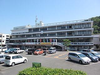 Minamata, Kumamoto City in Kyushu, Japan