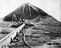 Mining operation showing men working with a sluice and hydraulic equipment, Alaska, circa 1906 (AL+CA 2399).jpg
