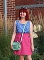 Mint Green Brit-Stitch Bag, Pink Linen Skirt, and Sleeveless Anchor Print Shirt (20582236141).jpg