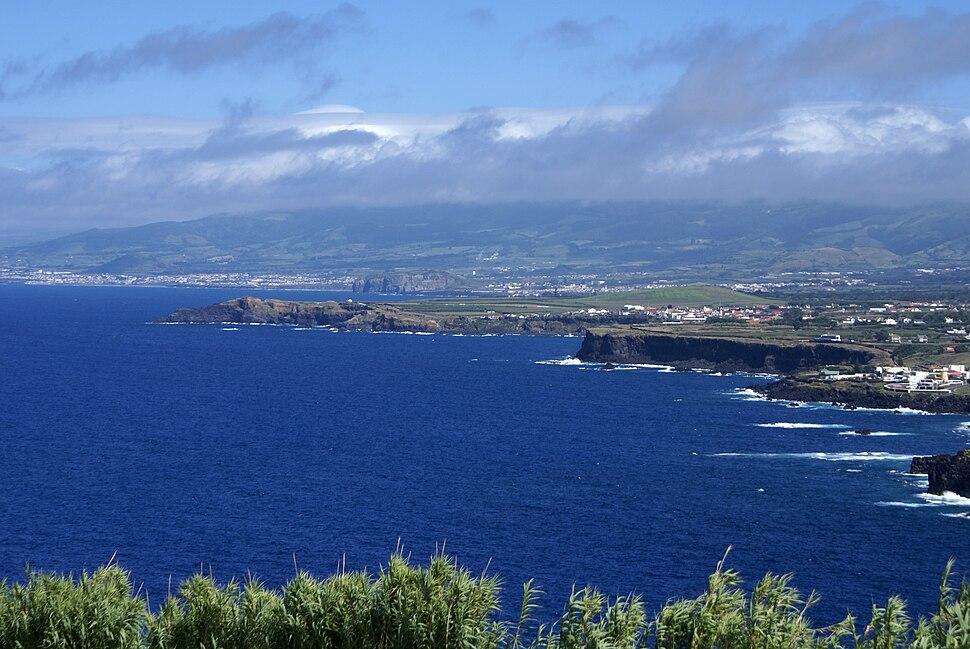 Miradouro da Vigia das Baleias, Capelas, Ponta Delgada, ilha de São Miguel, Açores