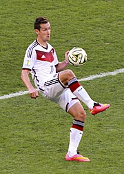Немецкий футболист клозе