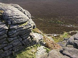 Bennachie - Image: Mither tap view north