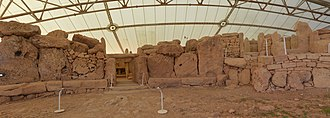 Mnajdra - Low temple panoramic