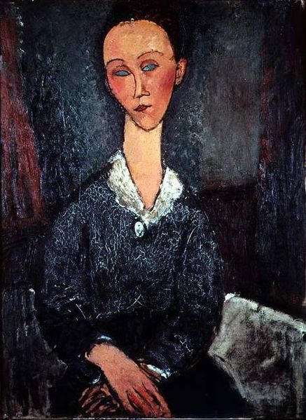 Archivo:Modigliani - portrait woman white collar.jpg