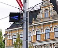 Modré návěstidlo výhybky Liberec.jpg