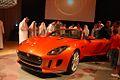 Mohammed Yousuf Naghi Motors unveils Jaguar F-TYPE in Jeddah, KSA (9005509070).jpg