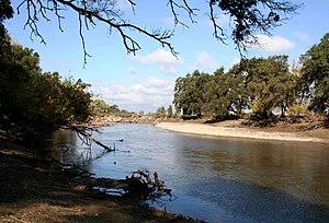 Mokelumne River AVA - Mokelumne River in Lodi, California.