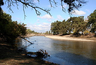 Lower Mokelumne River bei Lodi