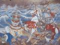 Mongol invasion of Tsushima, ema at Sasuura.png