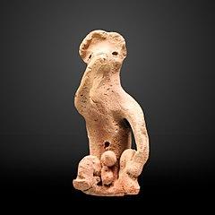 Monkey figurine-E 27291