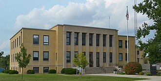 Montgomery County, Missouri - Image: Montgomery County MO Courthouse 20150830 145